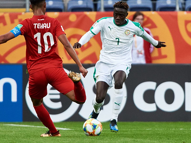 Amadou Sagna scored the fastest goal in FIFA U-20 World Cuo tournament against Tahiti - Sports Leo sportsleo.com