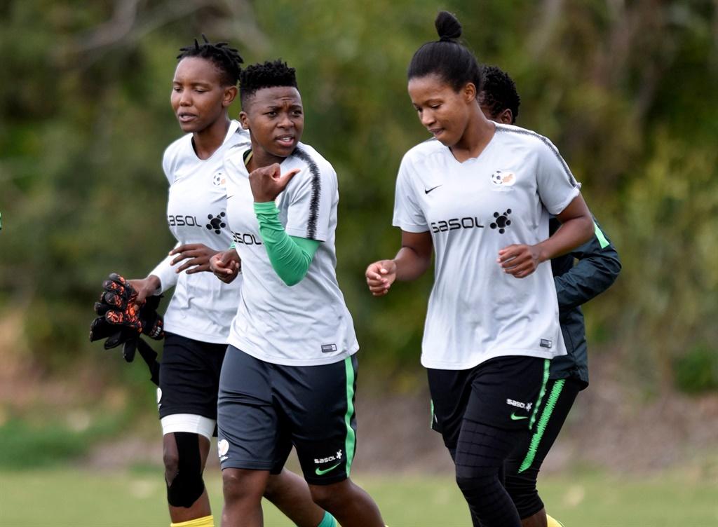 Banyana defender Nothando Vilakazi - Sports Leo sportsleo.com.