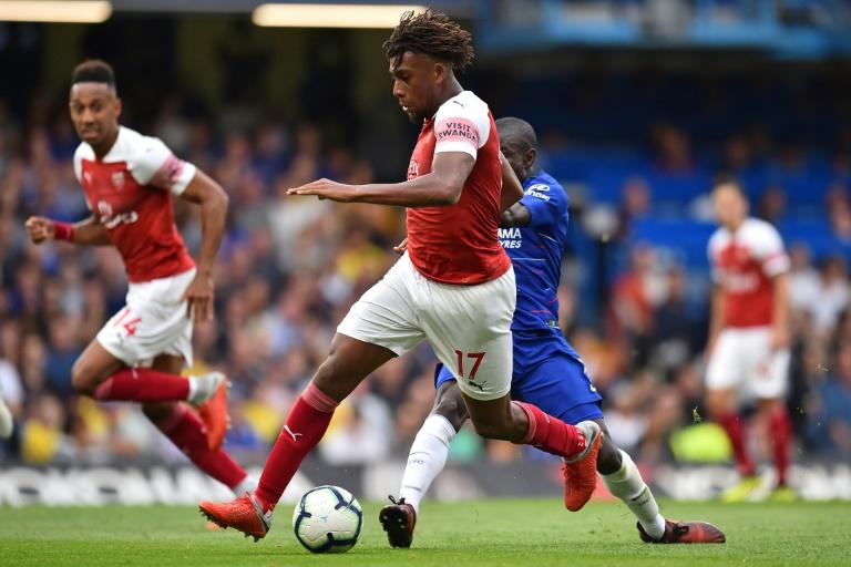 Nigeria and Arsenal winger Alex Iwobi - sportsleo.com