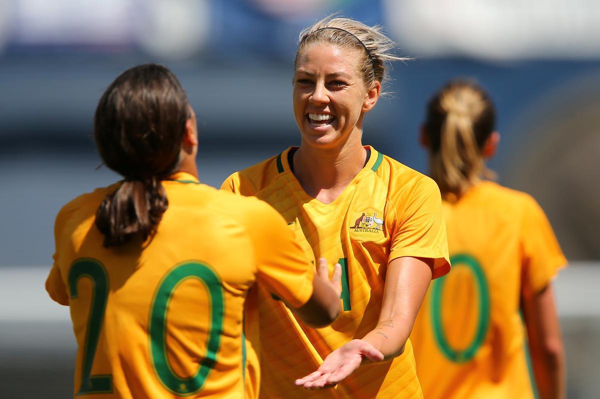 Australia's women soccer players - Sports Leo