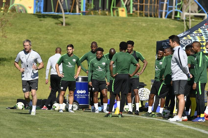 Bafana Bafana Training Session - Sports Leo
