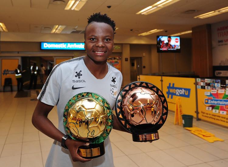 Banyana Banyana forward Thembi Kgatlana