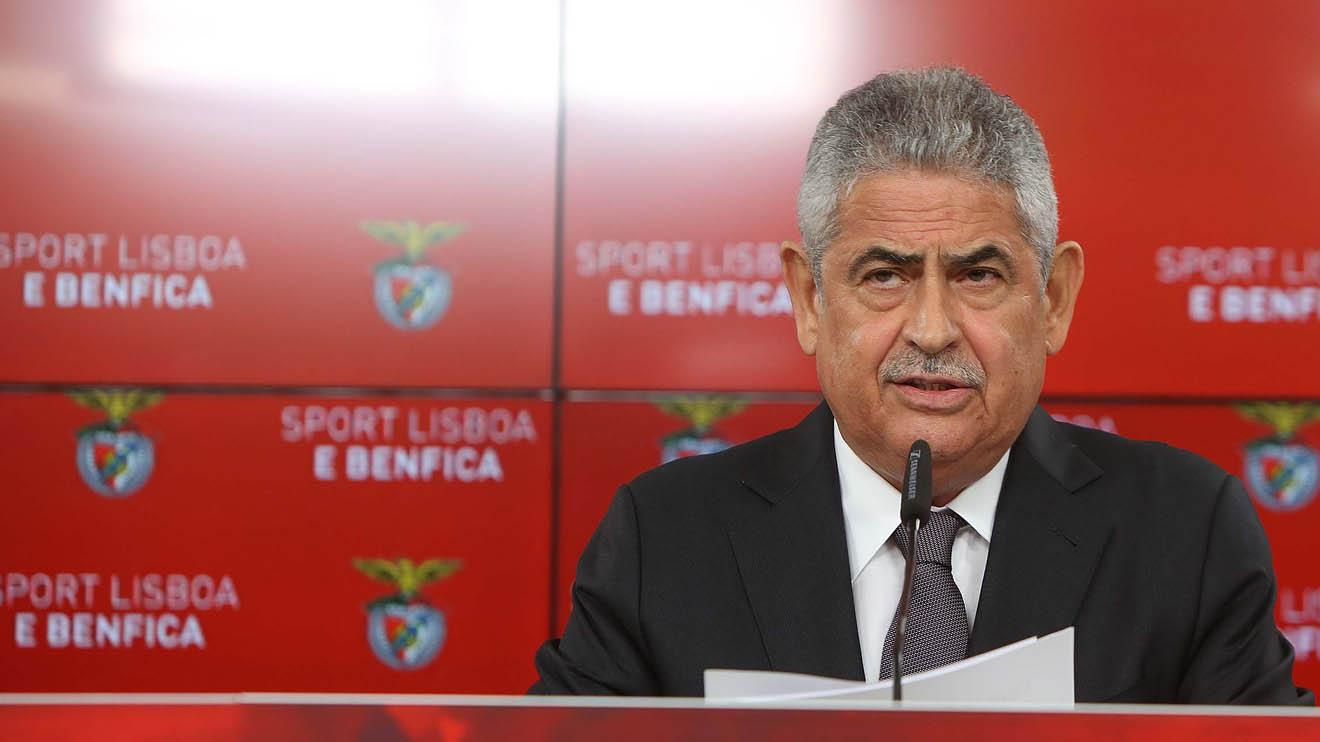 Benfica president Luis Filipe Vieira - Sports Leo