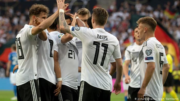 Germany cruise past Estonia with 8 - 0 win - Sports Leo