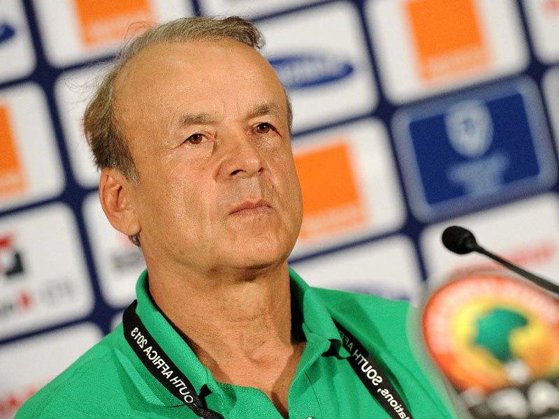 Nigeria's coach Gernot Rohr - Sports Leo