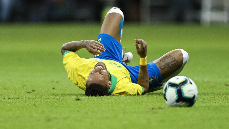 Neymar ankle injury woe - Sports Leo