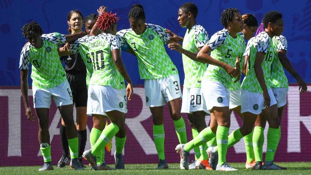 Nigeria claim first victory in FIFA Women's World Cup 2019 - Sports Leo
