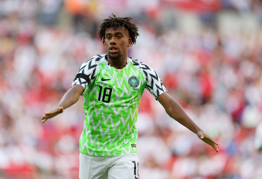 Nigerian Alex Iwobi eyes Afcon final in Egypt - Sports Leo