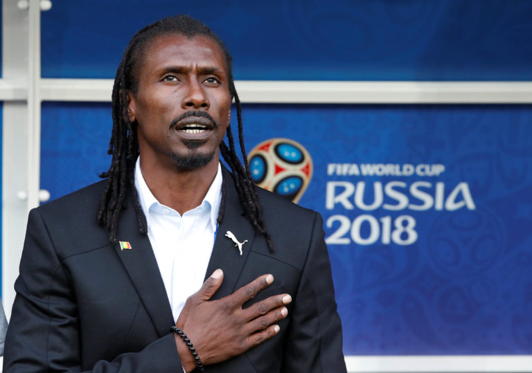 Senegal coach Aliou Cisse - Sports Leo