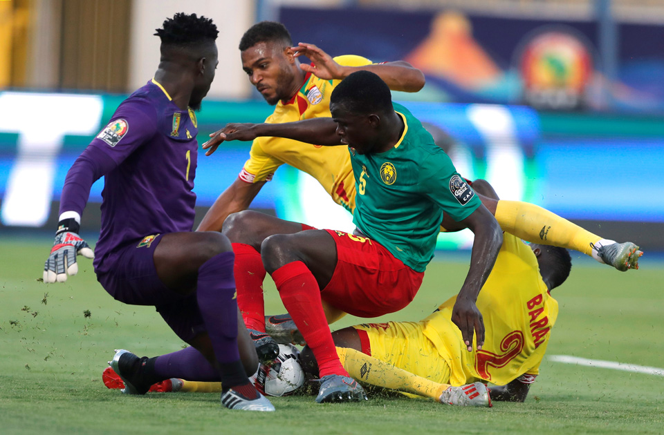 Cameroon draw with Benin to reach round of 16 in Total AFCON 2019 - Sports Leo