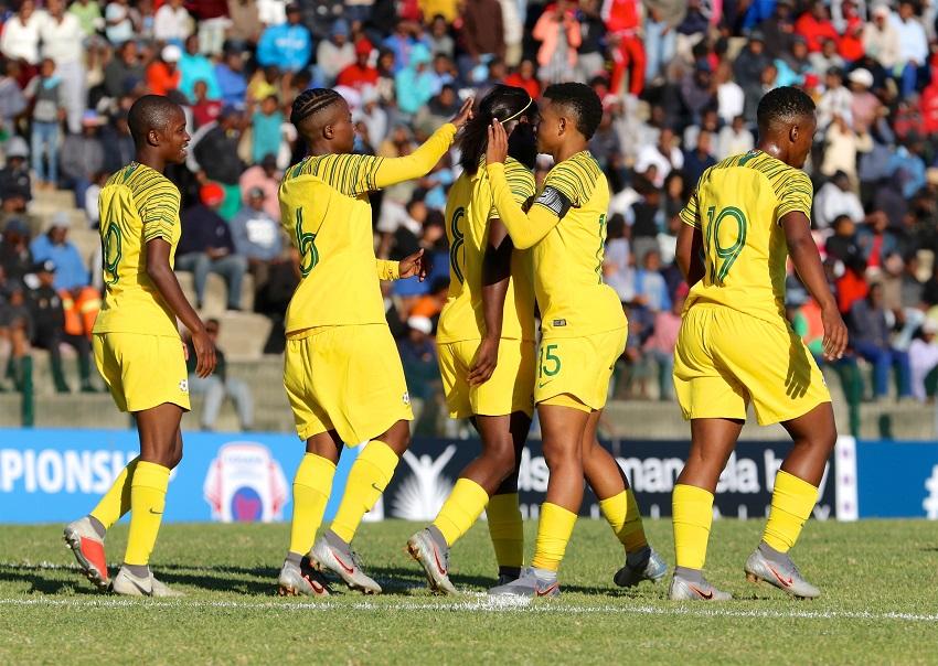 Banyana Banyana beats Comoros 17 - 0 - Sports Leo