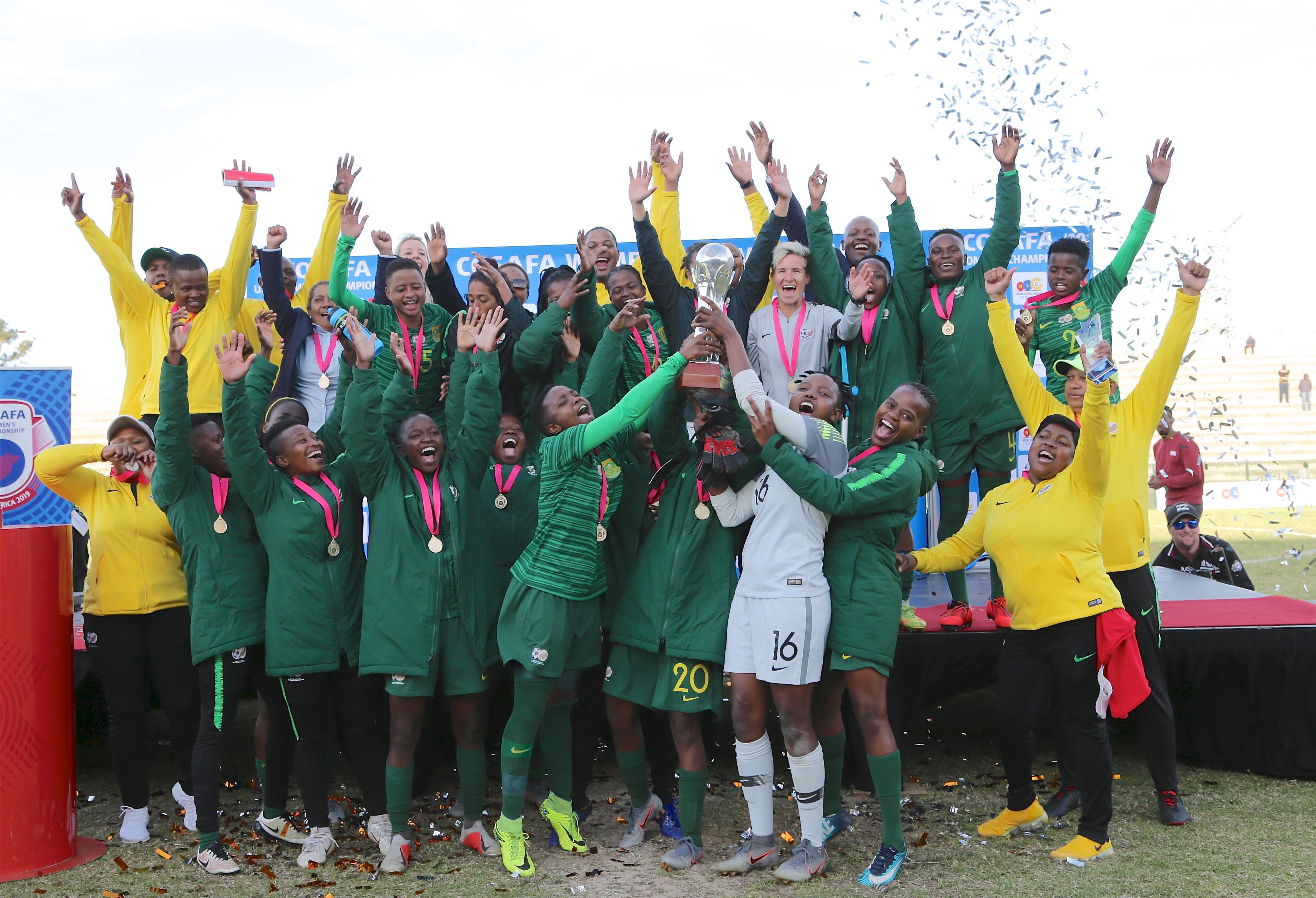 Banyana beat Zambia to lift Cosafa Women's title - Sports Leo
