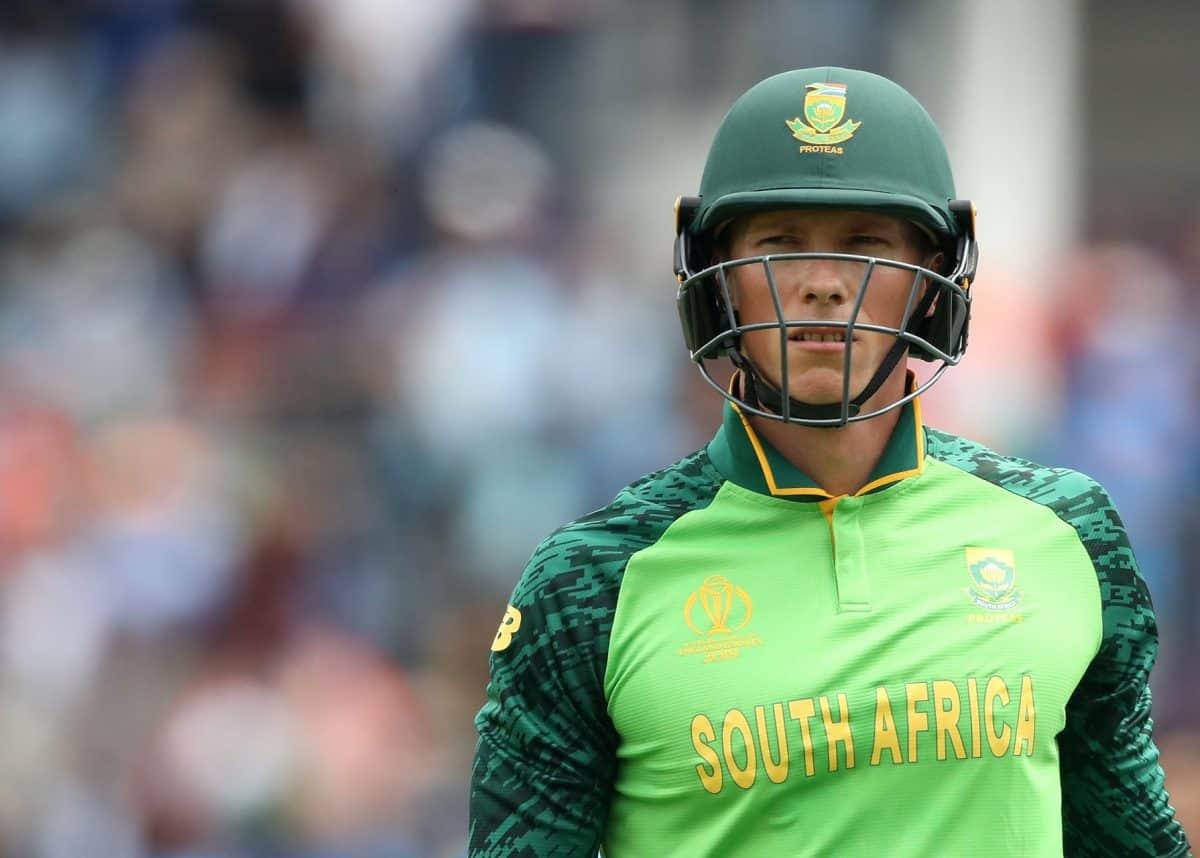 Van der Dussen awarded SA cricket contract - Sports Leo