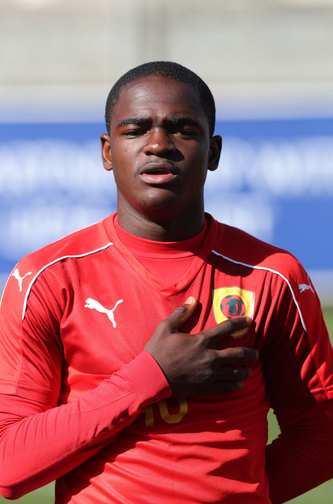 Angola teenager Zito Luvumbo makes debut in FIFA World Cup qualifier - Sports Leo