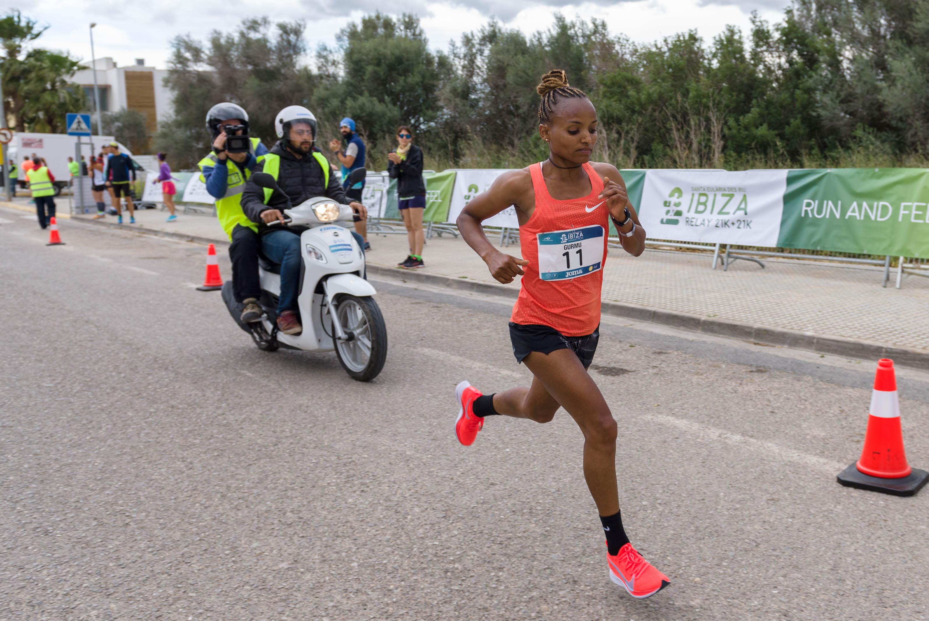 Ethiopia's Yami Gurmu 2019 Taiyuan International Marathon - Sports Leo