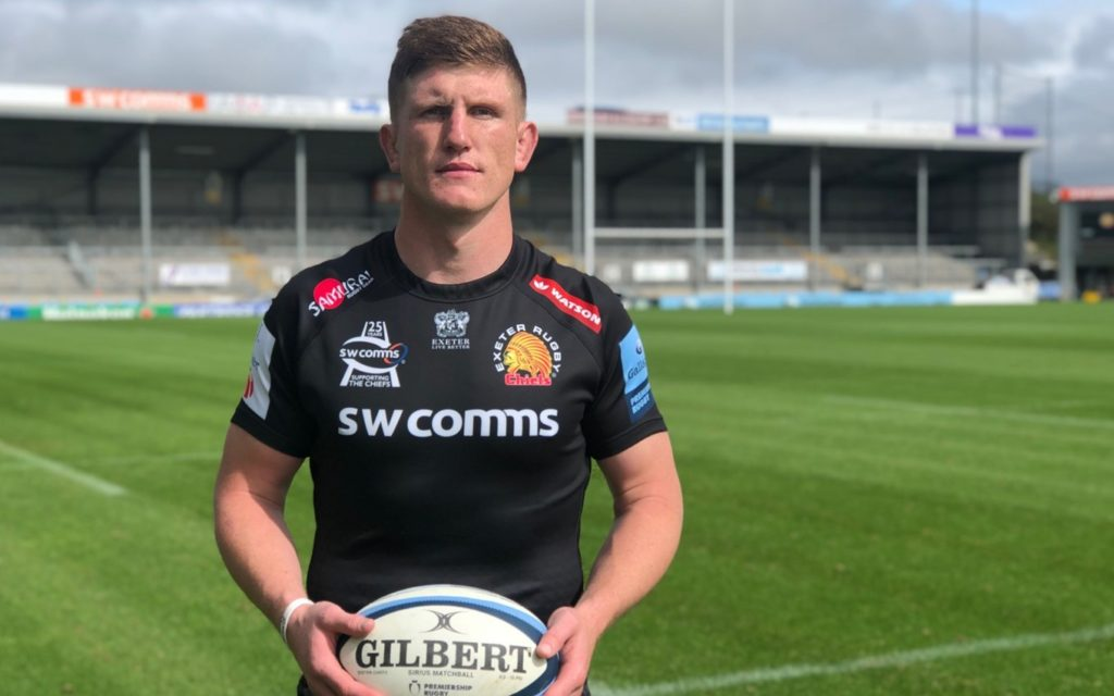 Exeter Chiefs sign Sharks forward Jacques Vermeulen - Sports Leo