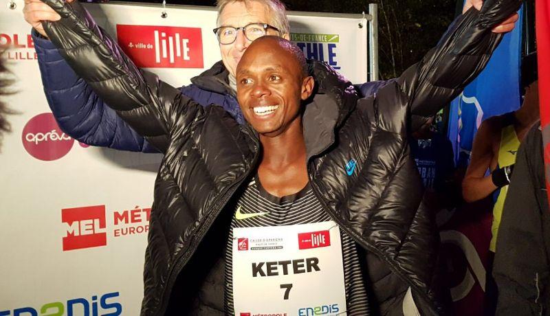 Kenya's Robert Keter sets new 5km world record - Sports Leo