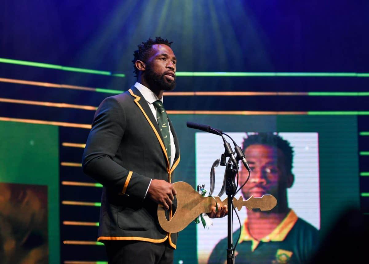Springbok captain Siya Kolisi wins big at SA Sports Awards - Sports Leo