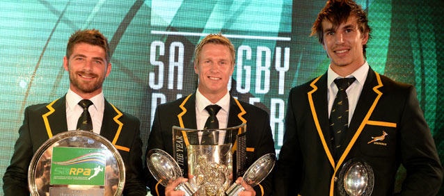 Springboks dominate SA Rugby Award nominations - Sports Leo