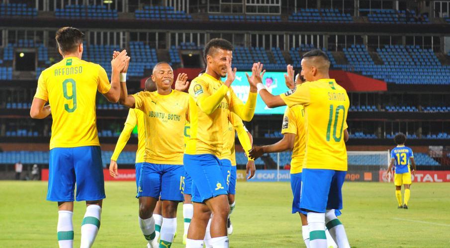 Sundowns thump Petro de Luanda 3-0 in Champions League - Sports Leo