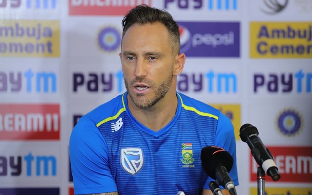 Wanderers Test may be Du Plessis' last one on home soil - Sports Leo