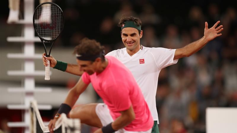 Federer defeats Nadal in Match in Africa exhibition - Sports Leo