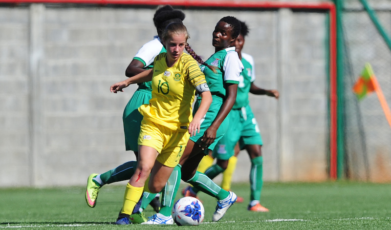 Zambia beat SA in Under-17 Women World Cup qualifier - Sports Leo