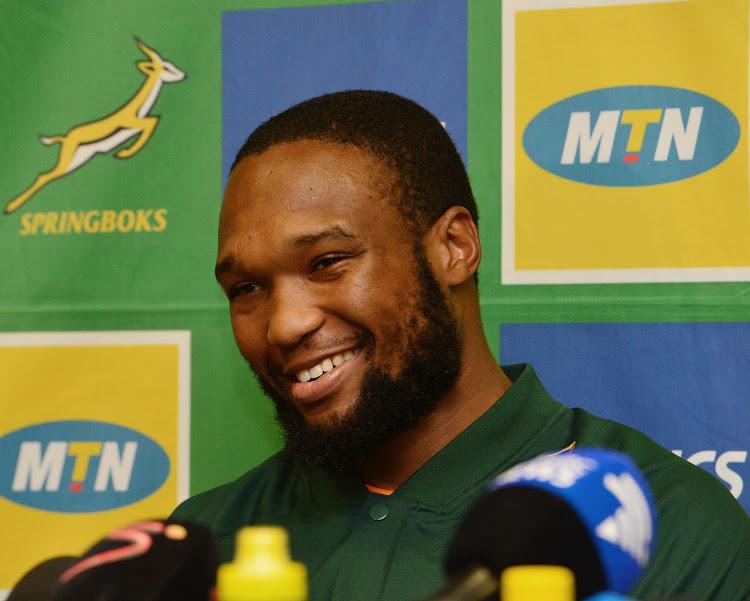 Springbok Lukhanyo Am training hard ahead of lockdown - Sports Leo
