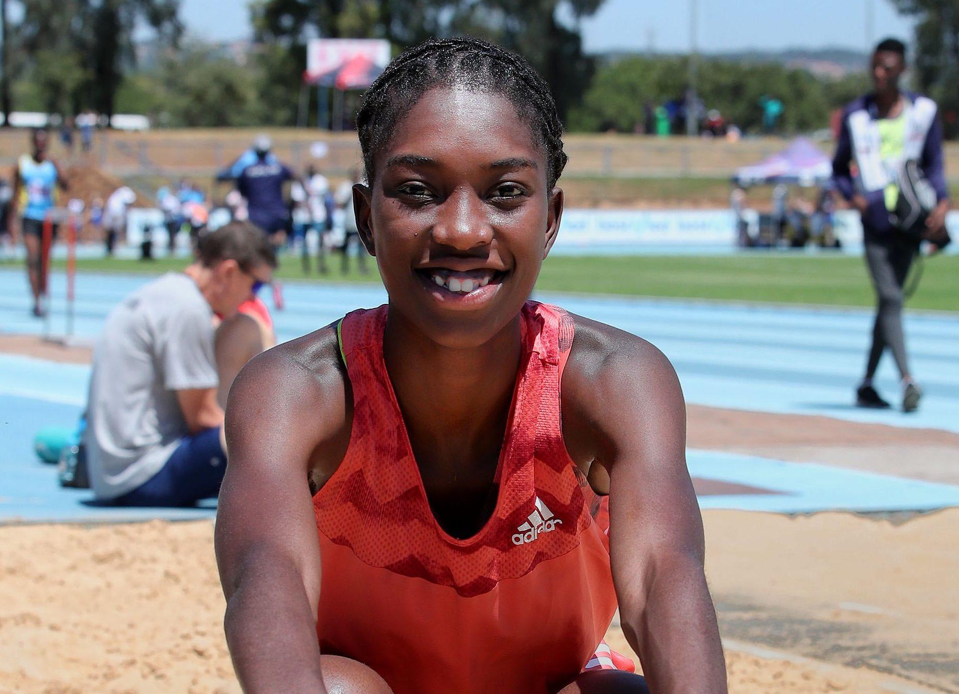Zinzi Chabangu shatters SA women;s triple jump record - Sports Leo