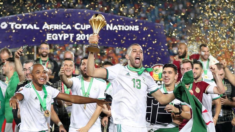 Algeria relive memories of historic 2019 Afcon title - Sports Leo