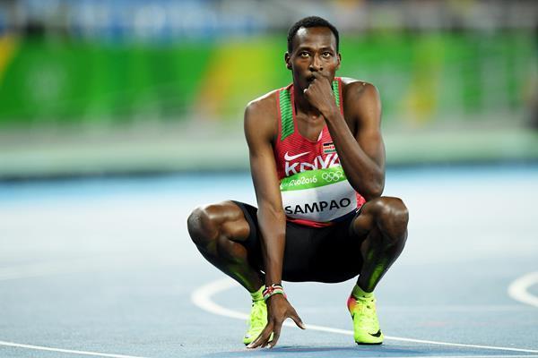 Kenyan 400m sprinter Alex Sampao focuses on new targets - Sports Leo