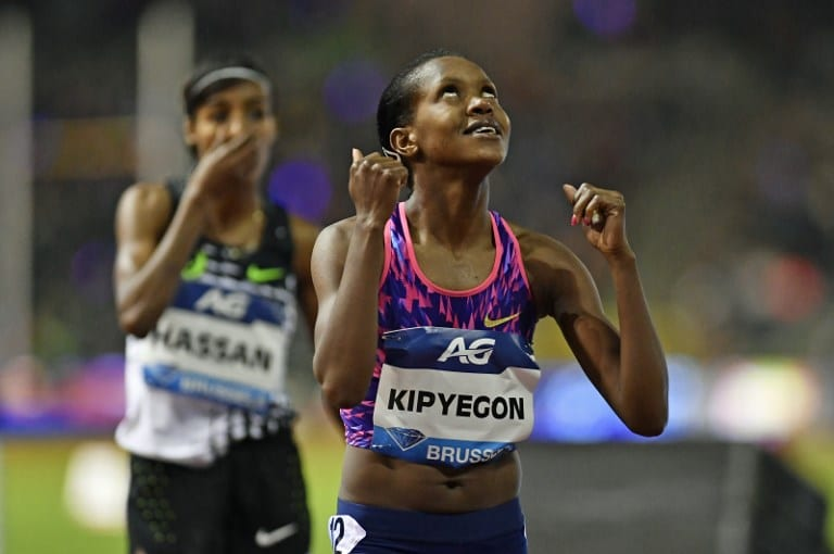 Kenyan Kipyegon ruing wasted training with Olympics suspended - Sports Leo