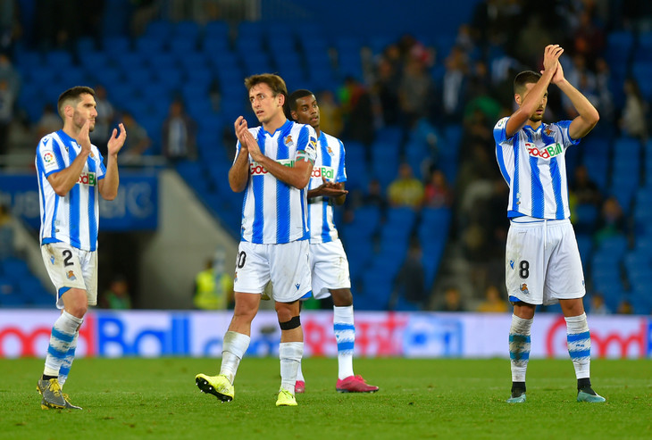 Real Sociedad make u-turn on training plans - Sports Leo