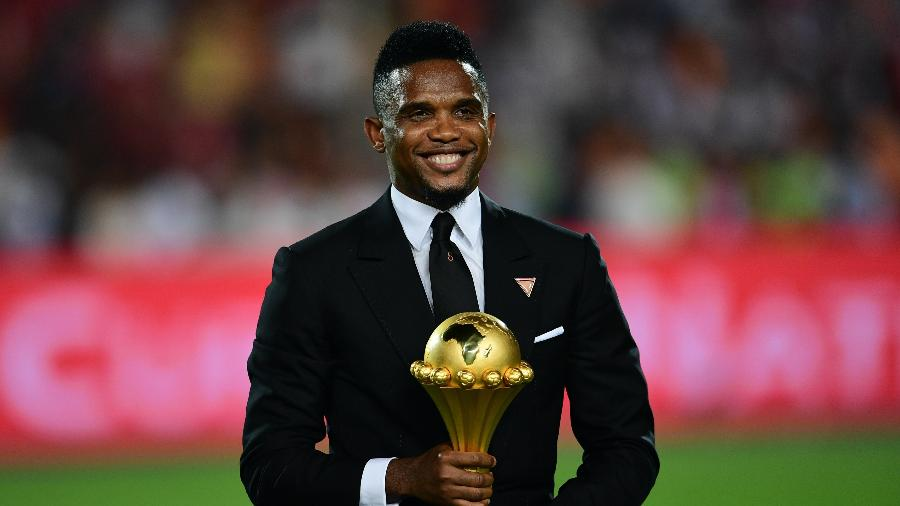 Samuel Eto'o - the standout Cameroon player at Afcon - Sports Leo