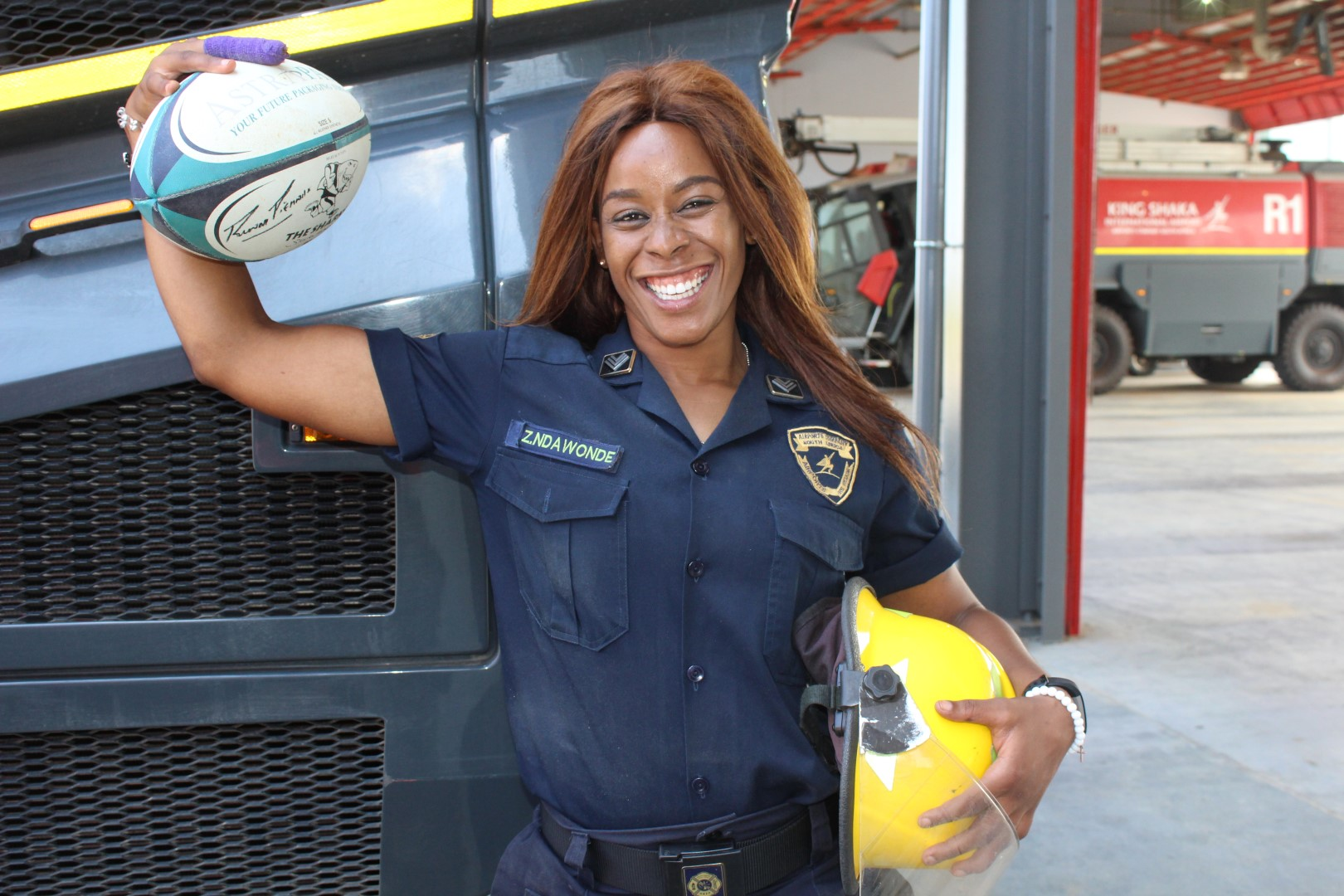 Springbok Women's centre fighting COVID-19 as a firefighter - Sports Leo