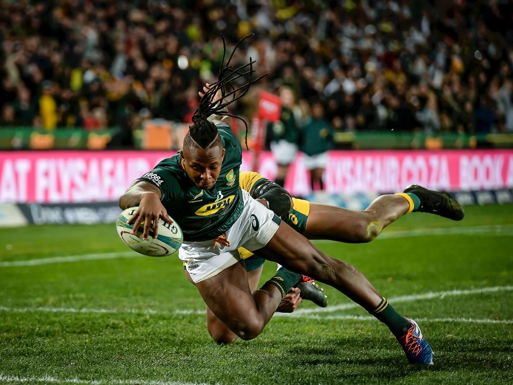 Springbok wing Nkosi using social media to stay connected - Sports Leo