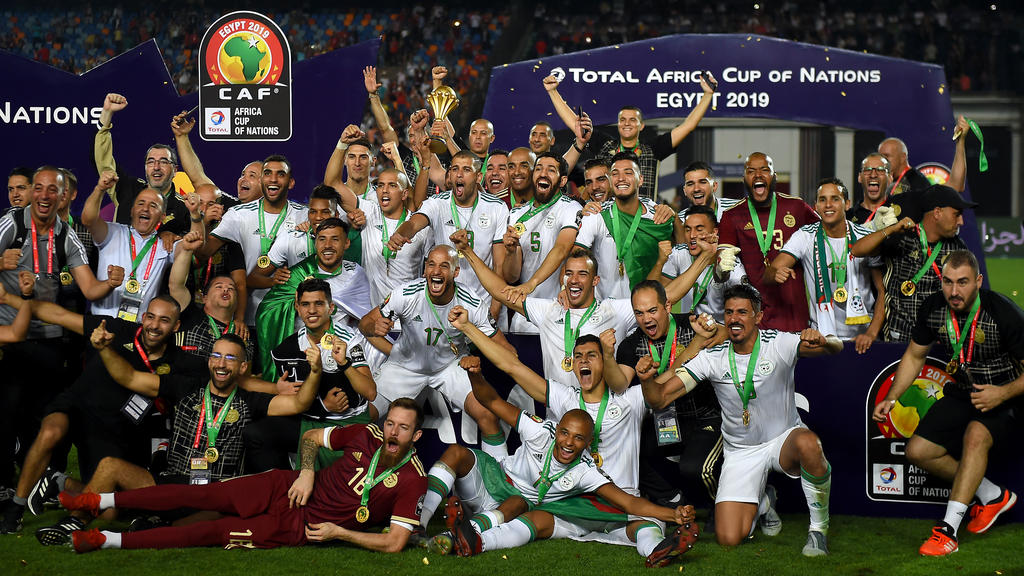 Algeria crowned football Kings of Africa - one year on - Sports Leo
