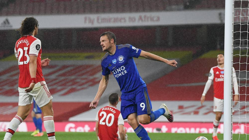Arsenal rue VAR as Vardy earns late point for Leicester - Sports Leo
