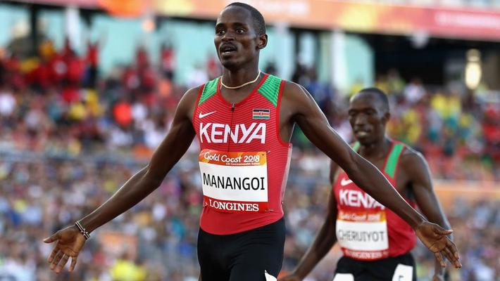 Kenyan runner Manangoi handed provisional suspension - Sports Leo