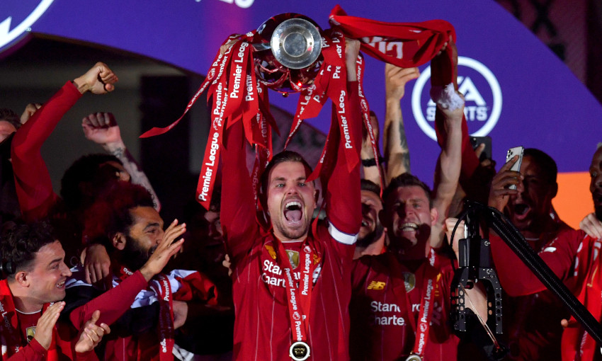Liverpool lift Premier League trophy after thriller at Anfield - Sports Leo