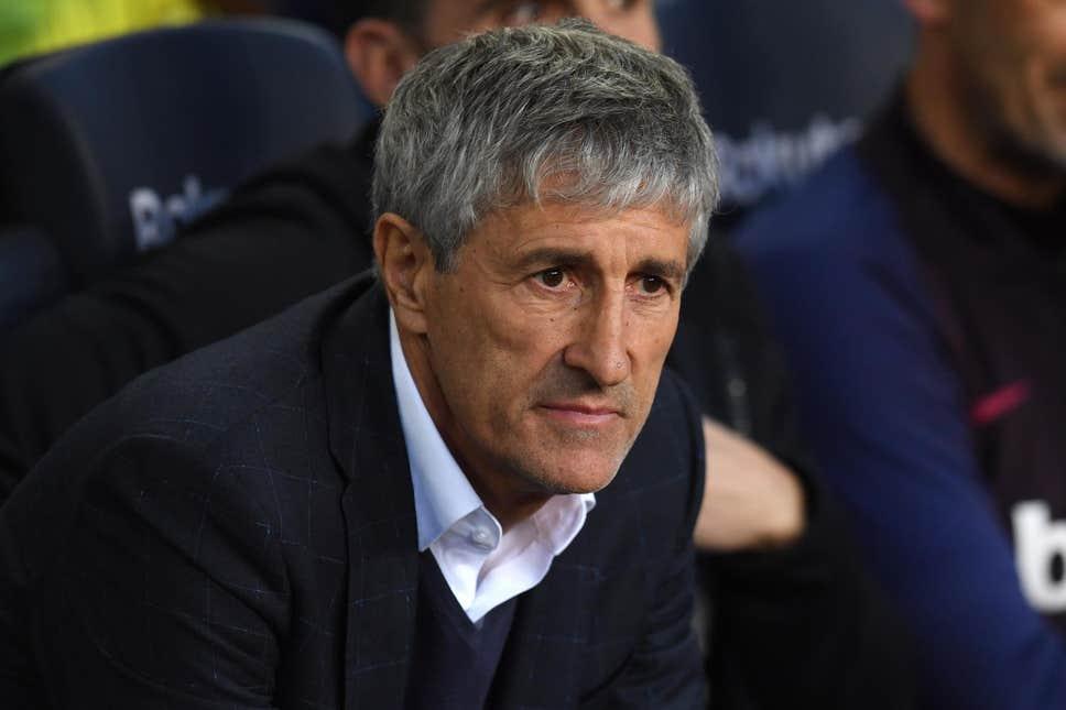 FC Barcelona part ways with head coach Quique Setien - Sports Leo