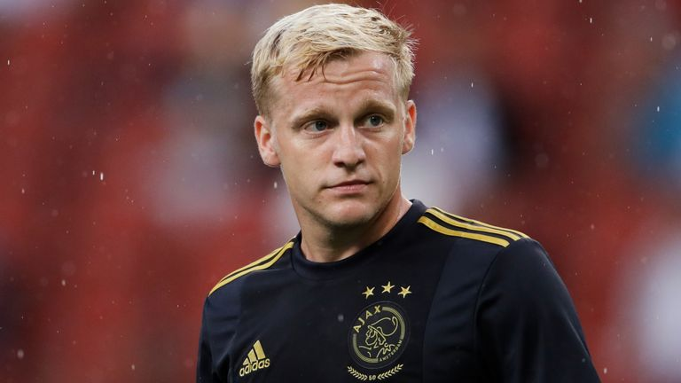 Manchester United close to sign Ajax's Donny van de Beek - Sports Leo