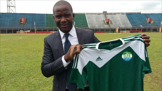 Sierra Leone appoint former midfielder Keister as new coach - Sports Leo
