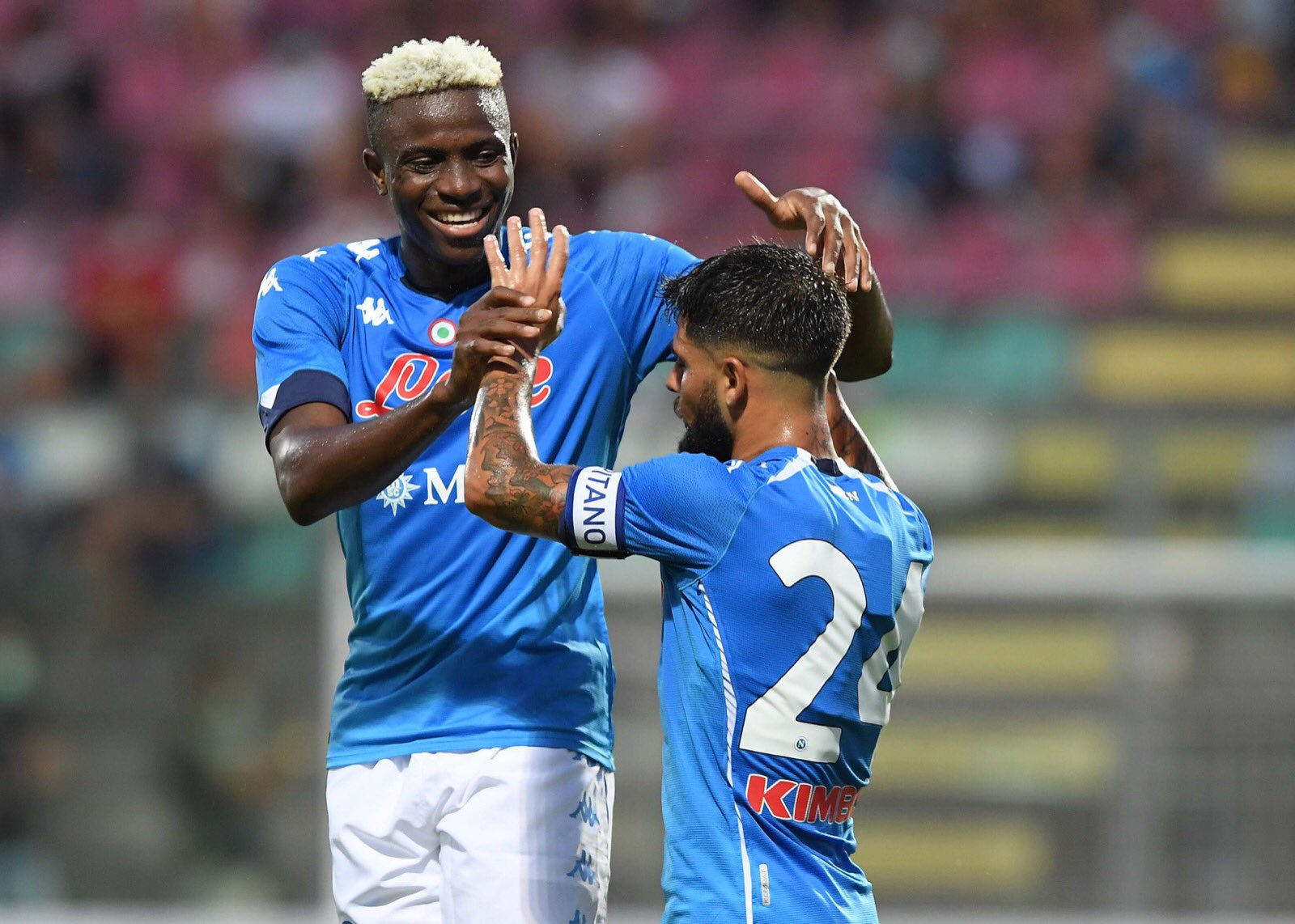 Nigerian footballer Osimhen aiming for the stars with Napoli - Sports Leo