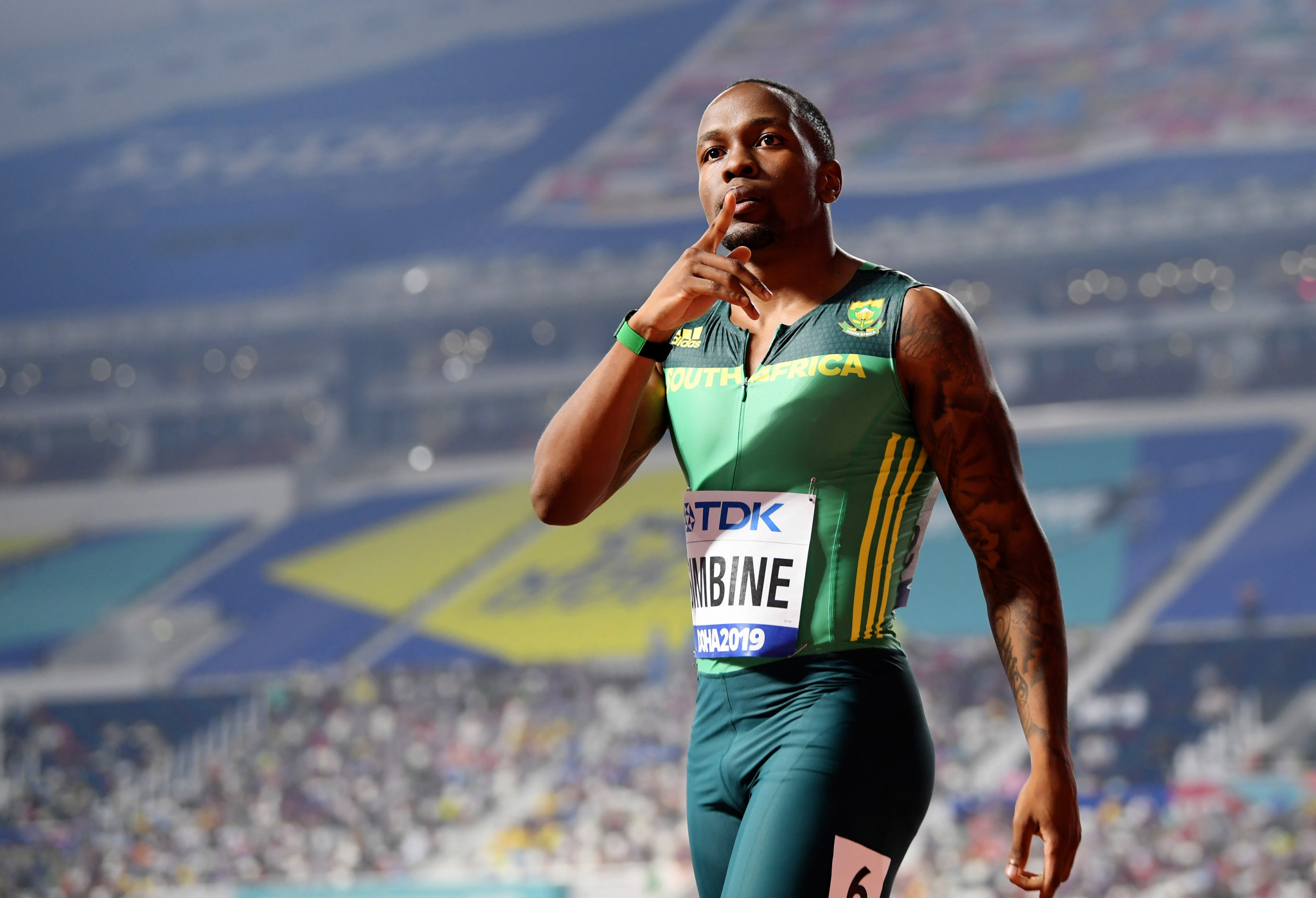 SA's Simbine makes triumphant return to the track in France - Sports Leo