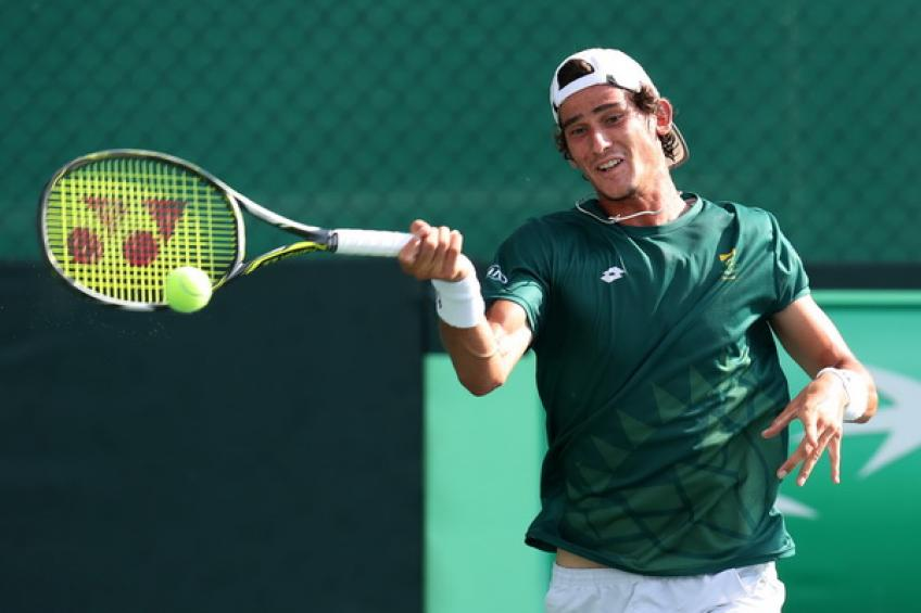 South Africa's Lloyd Harris reaches US Open second round - Sports Leo