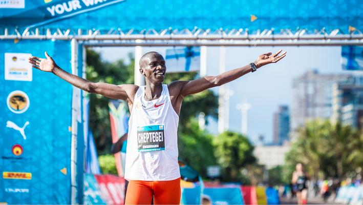 Ugandan world record holder Cheptegei's secret to success - Sports Leo