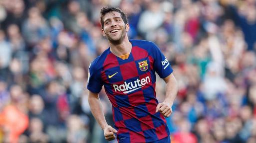 Barcelona fullback Sergi Roberto tests positive for COVID-19 - Sports Leo
