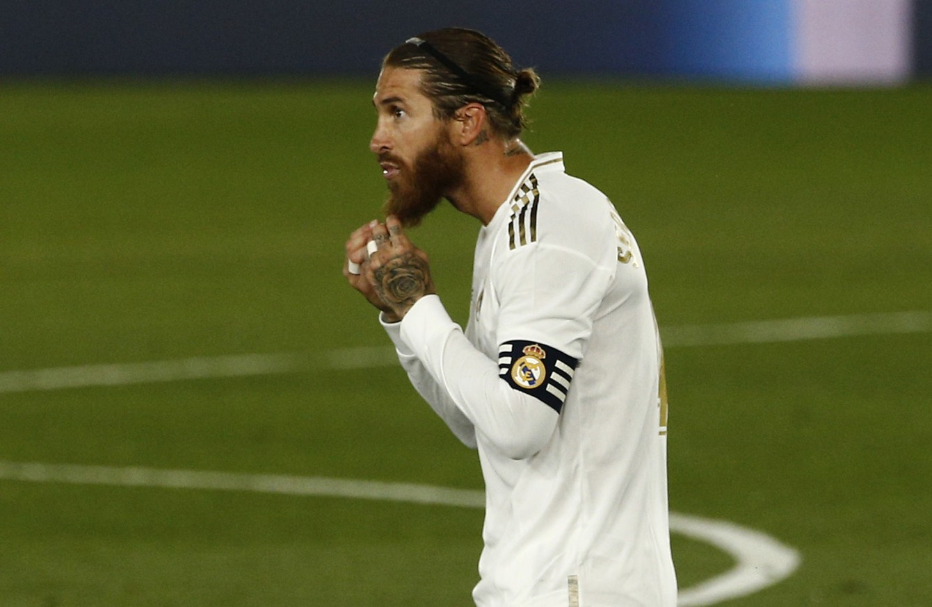 Manchester United target Real Madrid captain Sergio Ramos - Sports Leo