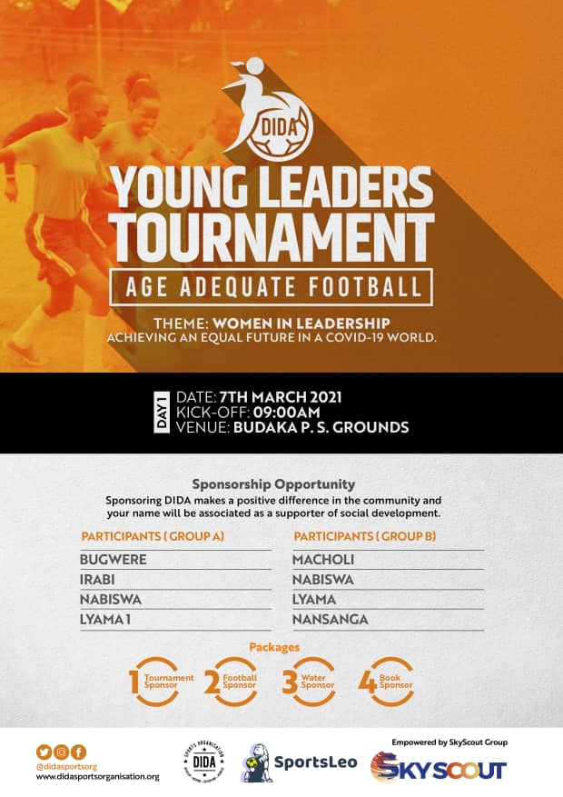 DIDA Sports Organisation Young Leaders' tournament